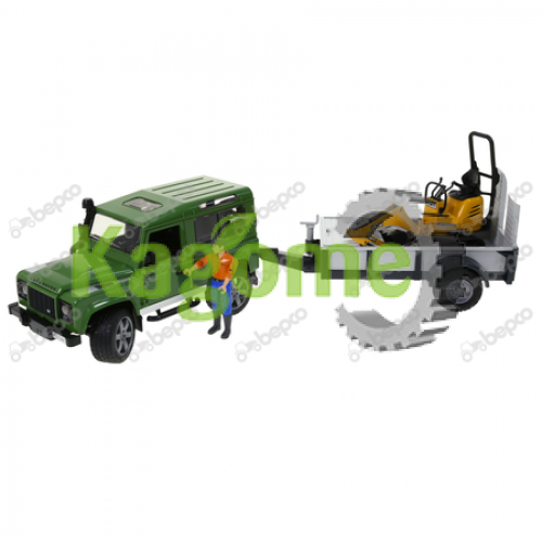 JUCARIE BRUDER LAND ROVER 02593, B41501
